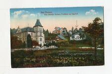 AK Bad Reinerz Villa Schmidt Fortuna Jägerhof Schlesien Duszniki-Zdrój 1920Marke