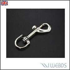 Swivel Trigger Clip 60mm Dog Lead Leather Craft Snap Hook Strong