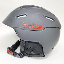Bolle Adult Size Large (58-60cm) Snowboard Ski Bicycle Helmet Black & Red EUC