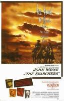 The Searchers Movie POSTER 11 x 17 John Wayne, Jeffrey Hunter, Natalie Wood, A