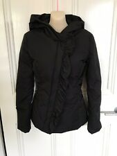 Emporio Armani Waterproof Goose Down Puffer Jacket. Size 40 (~AU 8). Black.