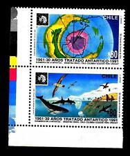 CHILE - CILE - 1991 - 30 anni del Trattato Antartico - (A)