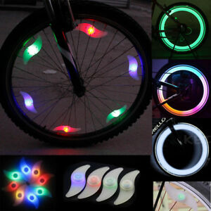 1 Pieces Bike Bicycle Cycling Wheel Spoke Wire Tyre Bright LED Flash Light Night