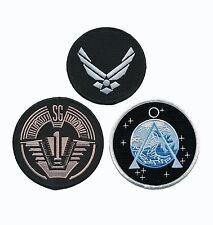 Stargate SG-1 Uniform/Costume Patch Set of 3 pcs PATCH BY MILTACUSA