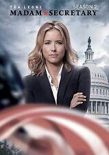 Madam Secretary . The Complete Season 2 . Tea Leoni . 6 DVD . NEU . OVP