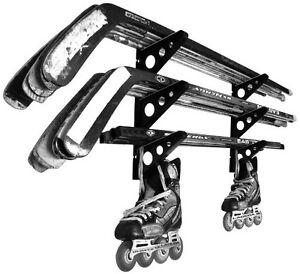 Hockey Stick Rack | 3 Tier Wall Storage | StoreYourBoard | NEW