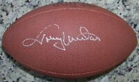 STUNNING! Johnny Unitas Signed Autographed Football Ball JSA Auction House LOA!
