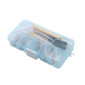Eyeglass Sun Glasses Watch Repair Kit Screws Nuts Nose Pads Screwdriver 500 pcs