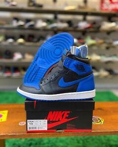 Nike Air Jordan 1 Retro High OG Royal Men Size 10 Basketball Shoe 555088-007