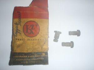 3 NOS Valve Lifter Tappet Adjusting Screws 1951-1955 Kaiser & Frazer 226 6-cyl