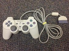 Genuine Sony PlayStation PS1 PS2 Analog Controller White