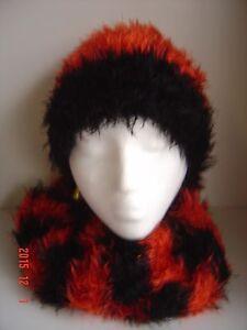 Magic Scarf HAT Gloves Socks Black RED Orange BENGALS UC Alabama Arizona Falcons