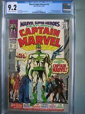 Marvel Super Heroes #12 CGC 9.2 1967 Origin & 1st app Captain Marvel (Mar-Vell)