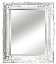 White Gloss Baroque Antique Shabby Chic Style Wall Mirror NEW Hall Bedroom