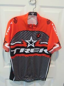 Bontrager TREK Cycling Jersey adult Size 2XL red & gray multi-color VGC