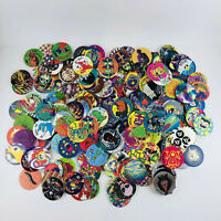 Lot of 220+ Pogs 1 Slammer With Container 1990s
