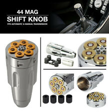 44 Magnum Ammo Revolver 6 Shooter Shift Knob Fits Automatic Manual Transmission