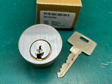 GMS ASSA V-10 Rim Cylinder Lock - NO SIDEBAR - Locksmith Locksport