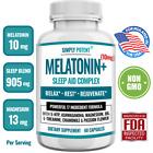 Sleep Aid Pills w Melatonin Night Time Sleeping Stress Relief 60 Capsules 05/23