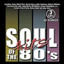 Various Artists (3-Pak)-Soul Hits Of The 80`S CD NEW