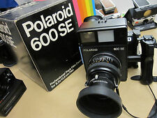 Polaroid 600 SE Full Kit w 75mm EXC. COND+++ Mint