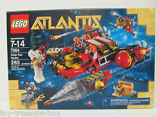 Atlantis LEGO 7984 Deep Sea Raider 265 piece set Ages 7-14 years