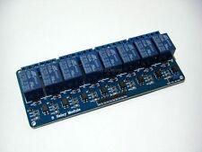 Scheda 5V DC 8 relè, relais, relay, Arduino, microcontroller, pic, avr, 250V-10A