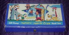 WALT DISNEY  MICKEY MOUSE CLUB  PENCIL CASE  VINTAGE  C. 1950's  DUCK NEPHEWS
