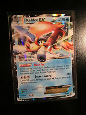 NM KELDEO EX Pokemon PROMO Card BW61 Black Star Set Collector Tin Black&White BW