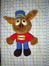 Vintage BAND UNIFORM ROWLF Plush Toy Muppets 1988 Dakin 12 INCH VG+ Jim Henson