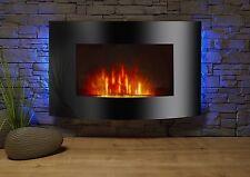 El Fuego Zürich Elektrokamin mit echtem LED Flammeneffekt  zur Wandmontage