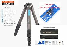 【US Seller】Leofoto LS-365C Pro Carbon Fiber Tripod with Free AM-1 Arm/ RRS/Gitzo