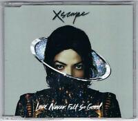 CD SINGLE MICHAEL JACKSON LOVE NEVER FELT SO GOOD COLLECTOR NEUF SOUS BLISTER
