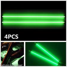 "2×6""+2×12"" Car Green Undercar Underbody Neon Kit Lights CCFL Cold Cathode Tube"