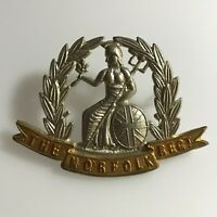 Vintage The Norfolk Regiment British Army Military Cap Badge : 03/01