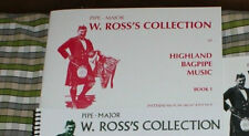 ROSS COLLECTION de Excellents Highland Bagpipe Musique Tunes pipes volume 1