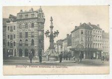 CPA PK AK BRUXELLES-SAINT-GILLES LA FONTAINE MONUMENTALE 1903