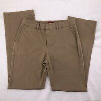 Merona Womens Pants Size 6 The Ultimate Khaki Tan Stretch Cotton Blend