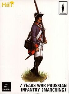 HäT/HaT Seven Years War Prussian Infantry (Marching)1/32 Scale 54mm