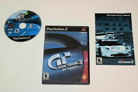 Gran Turismo 3 Playstation 2 PS2 Video Game Complete
