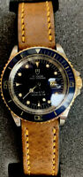 "Tudor ( Rolex ) Mini Submariner Rare ****BLUE  ""Sub"" Fully Serviced And Restored"
