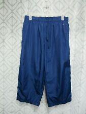 Danskin Now Shorts Size L 12 14 Blue Elastic Waist Drawstring Lined Pockets Work