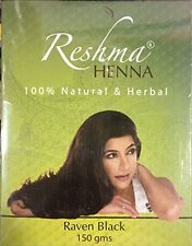 Reshma Henna Raven Black Color 150gm Pack for Hair HERBAL NATURAL Powder EXP2019