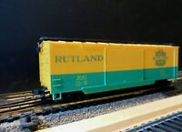 "AHM 5298G HO Scale 40' Double Door Boxcar Wood Sheathed ""RUTLAND"""