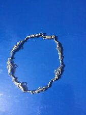 Stunning Sterling Silver  Mermaid Bracelet
