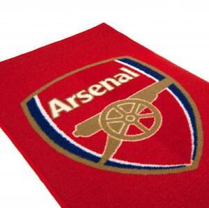 Arsenal FC Official Rug 80cm x 50cm AFC Mat Bedroom Football Birthday Gift