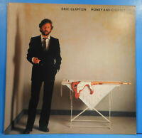 ERIC CLAPTON MONEY AND CIGARETTES LP 1983 ORIGINAL GREAT CONDITION! VG+/VG+!!D