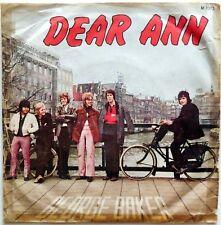 DISCO VINILE 45 GIRI GEORGE BAKER DEAR ANN MIDNIGHT ITALY 1970
