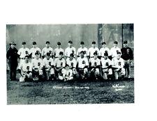 1946 SPOKANE INDIANS  8X10 TEAM PHOTO BASEBALL TAKEN 2 DAYS BEFORE FATAL CRASH