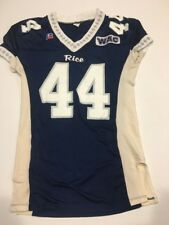 Game Worn Used Adidas Rice Owls Football Jersey #44 Size 46